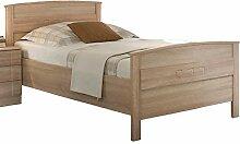 Komfortbett Seniorenbett Eiche Sonoma Dekor 100x200