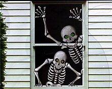 Komisch Scary Rahmengestelle Fenster Tür
