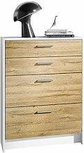 Kommode Alvor V2 Anrichte mit 4 Schubladen 76 x