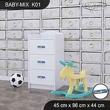 Kommode Baby Mix