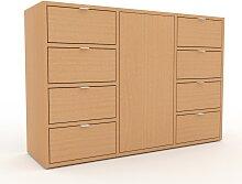 Kommode Buche - Lowboard: Schubladen in Buche &