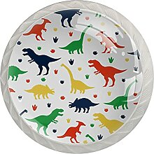 Kommode Knöpfe Farbe Cartoon Dinosaurier