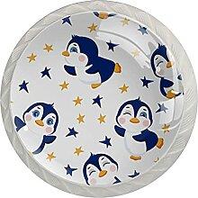 Kommode Knöpfe Pinguine Und Sterne