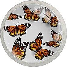 Kommode Knöpfe Schmetterlinge Badezimmerknöpfe 4