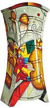 KOMMODE lackiert, handbemalt, Glanz Multicolor