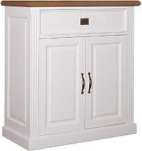 Kommode Landhausstil York Shabby chic Oak 2 Türen