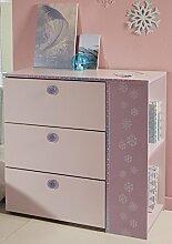 Kommode rosa / lila Kommode Spielkommode Frisierkommode Schrank Kinderzimmer Jugendzimmer Mädchen Kinderzimmerkommode