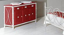 Kommode San Pedro Kommode Design rot