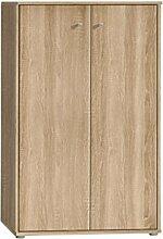 Kommode Tempra 72-111 mit 2 Türen Sonoma Eiche
