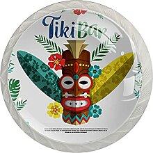 Kommodenknöpfe Schubladenknöpfe ethnische Tiki