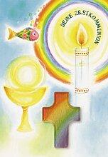 Kommunionkarte Handschmeichler Deine Erstkommunion