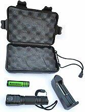 Kompakte CREE LED-Taschenlampe für Camping, Jagd,