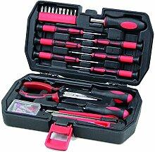 Kompakter & kleiner Werkzeugkoffer bestückt mit