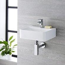Kompaktes Handwaschbecken Exton 45 x 29,5 cm mit