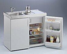 Kompaktküche Singleküche Mini-Küche Büroküche Kleinküche Teepantry B100 cm
