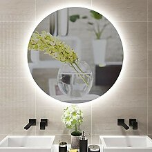 Kompaktspiegel Bad Wandbehang LED-Licht Runde Make