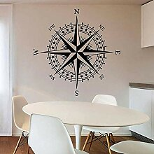Kompass Aufkleber Wandaufkleber Wandbilder für