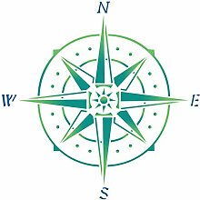 Kompass Schablone-35,5x 35,5cm