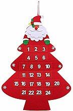 Kompassswc Filz Adventskalender zum Aufhängen und