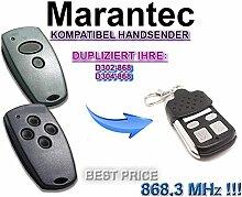Kompatibel Marantec D302-868 | D304-868 Handsender
