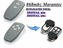 Kompatibel Marantec D382 | D384 Handsender Ersatz