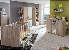 Komplett Babyzimmer Set Babymöbel Gitterbett
