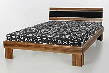 Komplett Bett Noce Nussbaum 120x200cm inkl. Rost
