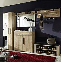 Komplett Garderoben Set Sonoma Eiche