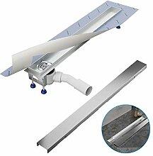 Komplett-SET - Duschrinne 60 cm AQUABAD® SDS Pro