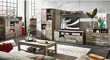 Komplett Wohnzimmer Set inkl. Couchtisch &