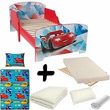 Komplettpaket Bett Cars Ice Racers Disney = Bett +