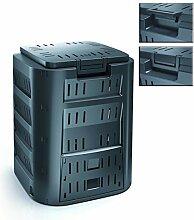 Komposter mit 220 Liter Fassungsvermögen und Zwei