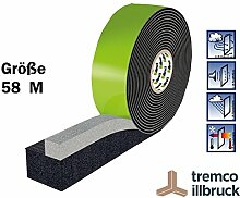 Kompriband Fensterbau Abdichten Top Marke Illbruck TP652 illmod trioplex+ 58/M