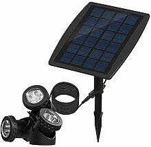 Konesky Solar-Teichbeleuchtung, Wasserdichtes