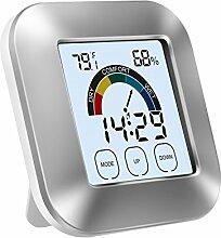 Konesky Temperatur-Feuchtigkeitsmesser Digital