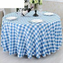 Konferenz Zimmer Tisch Tuch Tisch Tuch Tischdecke,Runder Tisch Tuch Stoff Einfachen Modernen Stil Restaurant Tischdecken-A 160x160cm(63x63inch)