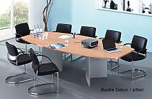 Konferenztisch Hammerbacher KT- 280 x 130-78 cm