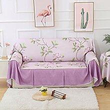 KongEU Sofabezug für 1/2/3/4 Sitzer, Schlichter