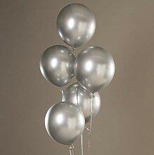 Kongqiabona 12 Zoll Moderne Chrom Perle Metall