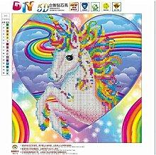 Kongqiabona Pferd Muster 5D Diamant Malerei DIY
