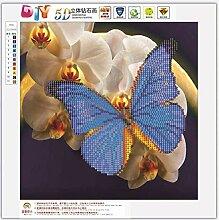 Kongqiabona Schmetterling Muster 5D Diamant