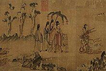 KONGWST Zehn Berühmte Gemälde Mit 1500