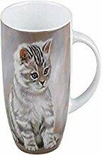 Konitz 4411030711 Tiger Striped Kitten Becher,
