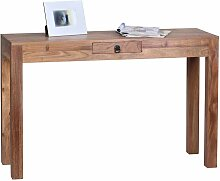 Konsolentisch aus Akazie Massivholz mit Schublade