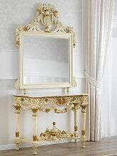 Konsolentisch mit Spiegel Marcela Barock Stil