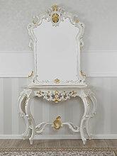 Konsolentisch mit Spiegel Rosa Maria Barock Stil