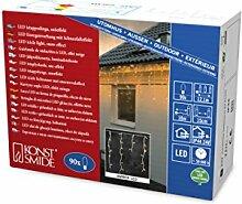 Konstsmide 2744-802 LED Eisregen Lichtervorhang /