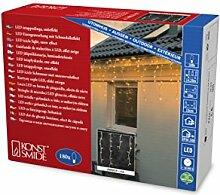 Konstsmide 2745-803 LED Eisregen Lichtervorhang