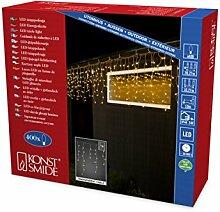 Konstsmide 3673-103 LED Eisregen Lichtervorhang