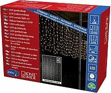 Konstsmide 3674-103 LED Eisregen Lichtervorhang